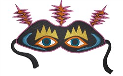 Scary Mask embroidery design