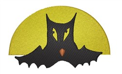 Bat embroidery design