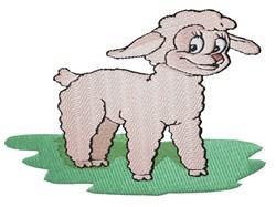 Lamb embroidery design