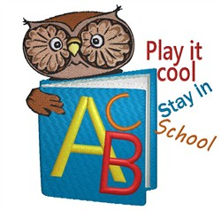 Play It Cool embroidery design