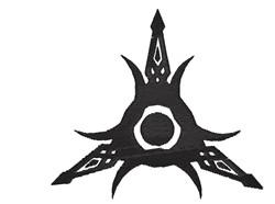 Tribal Edge Tattoo embroidery design