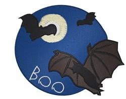 Boo embroidery design