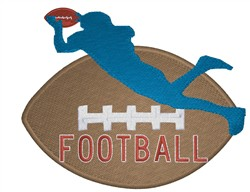 Football Player Design Football embroidery design