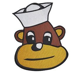 Sailor Monkey embroidery design