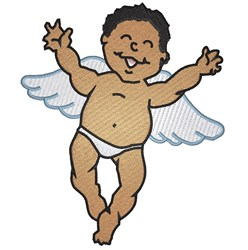 Angel Baby embroidery design