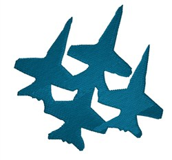 Blue Angels embroidery design