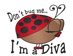 Im A Diva embroidery design
