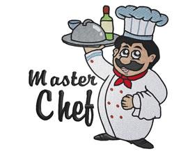 Master Chef embroidery design