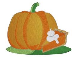 Pumpkin  Pie embroidery design