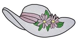 Elegant Hat embroidery design