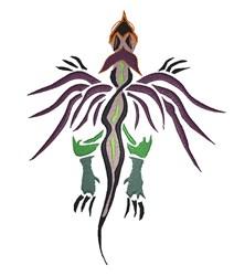 Tattoo Dragon embroidery design