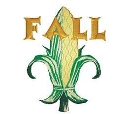Fall Corn embroidery design