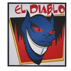 El Diablo embroidery design