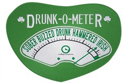 Drunk-O-Meter embroidery design