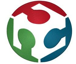 Open House Logo embroidery design