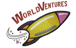 World Ventures embroidery design