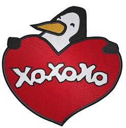 XOXOXO embroidery design