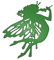 Green Fairy embroidery design