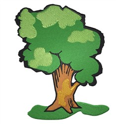 Big Tree embroidery design