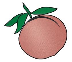 Peach embroidery design
