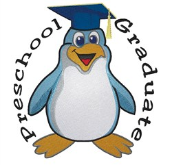 Preschool Graduate embroidery design