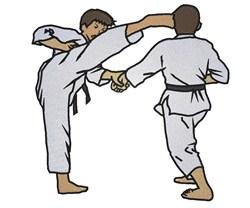 Martial Art  Boys embroidery design