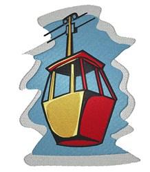 Gondola Lift embroidery design