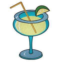 Margarita Drink embroidery design