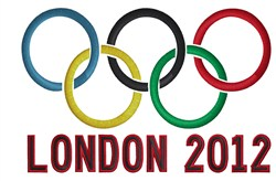 Olympics London 2012 embroidery design
