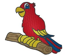 Cute Parrot embroidery design