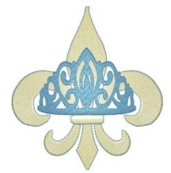 Royal Fleur De Lys embroidery design