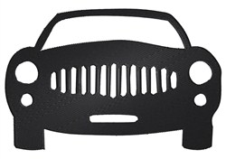 Car Silhouette embroidery design