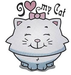 Kitten Love embroidery design