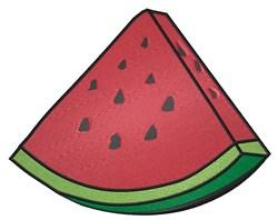Slice of Watermelon embroidery design