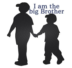 The Big Brother embroidery design