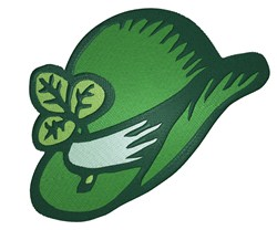 St. Patricks Hat embroidery design