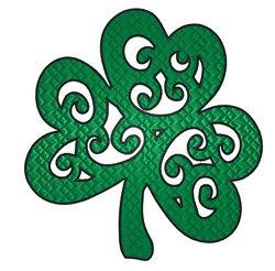 Fancy Clover embroidery design