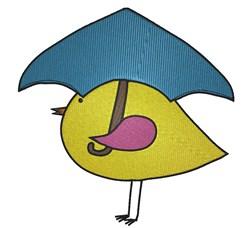 Chick Umbrella embroidery design
