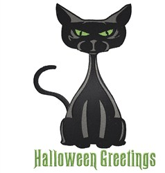 Halloween Greetings embroidery design