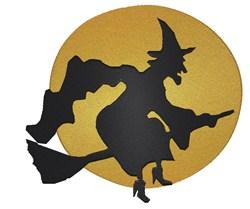Halloween Flight embroidery design