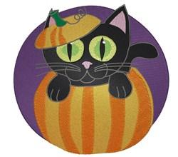 Pumpkin Suprise embroidery design