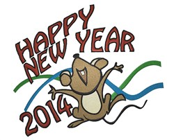 2014 Mouse embroidery design