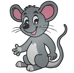 Cartoon Mouse embroidery design