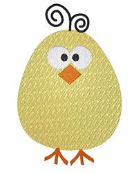 Cute Chicky embroidery design