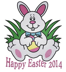 Easter 2014 embroidery design