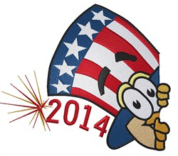 Uncle Sam 2014 embroidery design