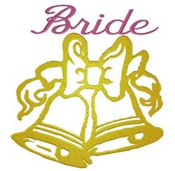 Bride Wedding Bells embroidery design