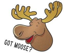 Got Moose? embroidery design