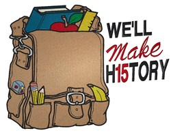 Well Make History embroidery design