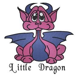 Little Dragon embroidery design